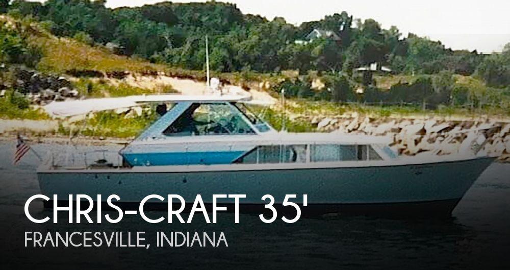 35' Chris-Craft Corinthian Sea Skiff