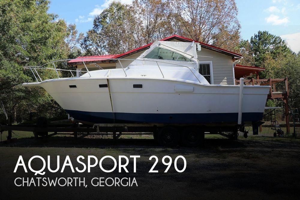 29' Aquasport 290 Tournament Master
