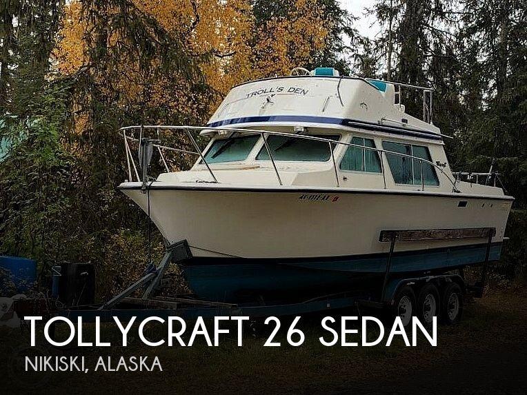 26' Tollycraft 26 Sedan