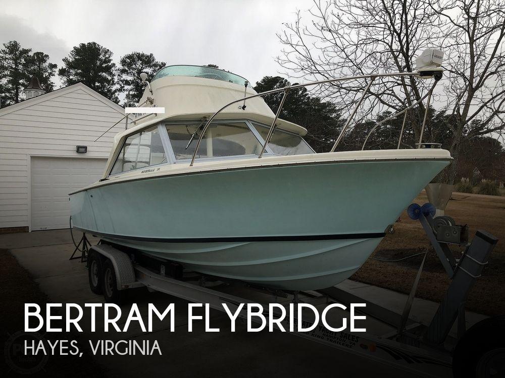 26' Bertram Flybridge