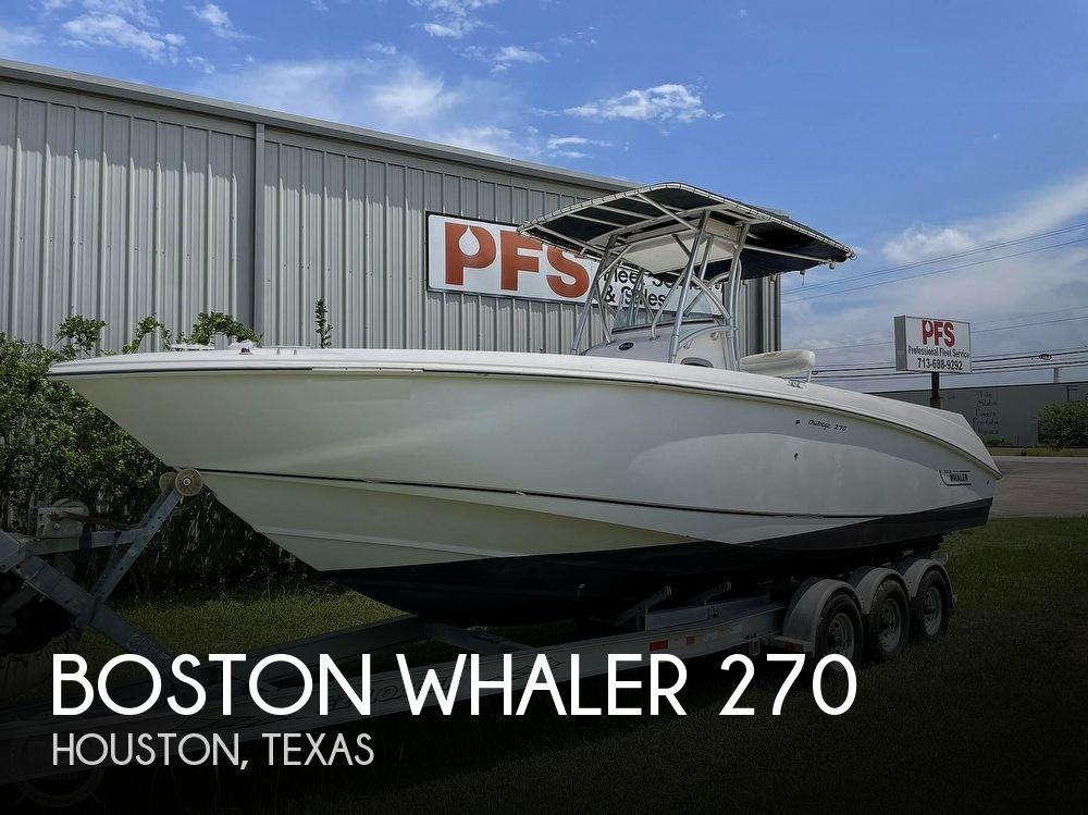 27' Boston Whaler 270 Outrage