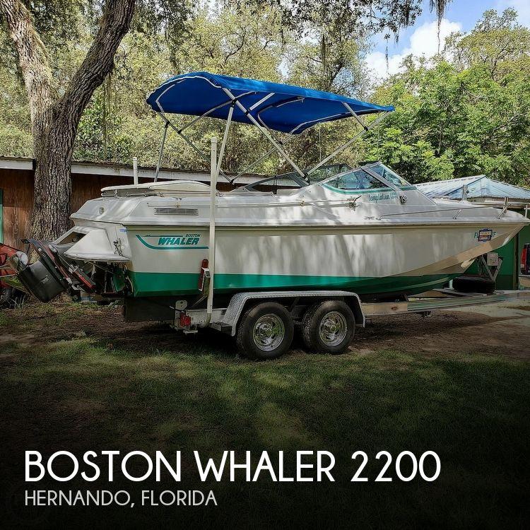 22' Boston Whaler 2200 Temptation MPFI