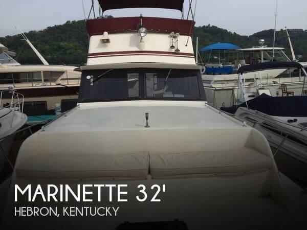 1990 Marinette 32 Sedan Flybridge for sale