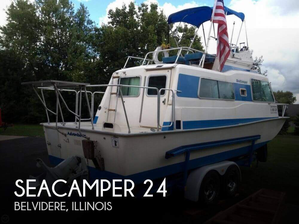 sold seacamper 24 39 boat in belvidere il 100108. Black Bedroom Furniture Sets. Home Design Ideas