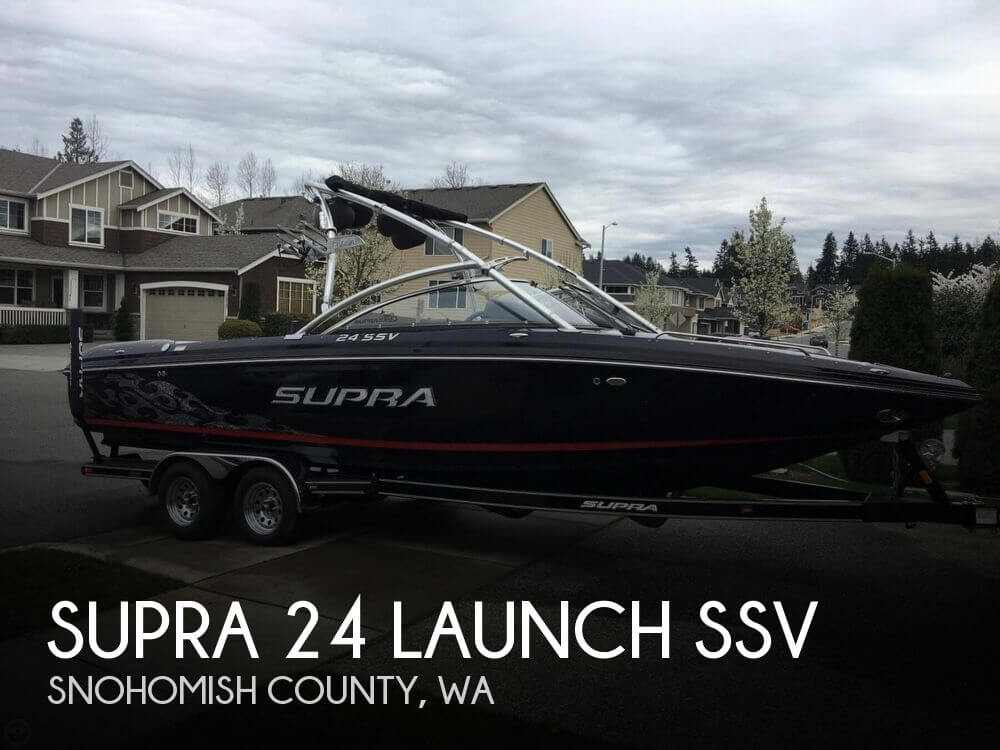 2008 SUPRA 24 LAUNCH SSV for sale