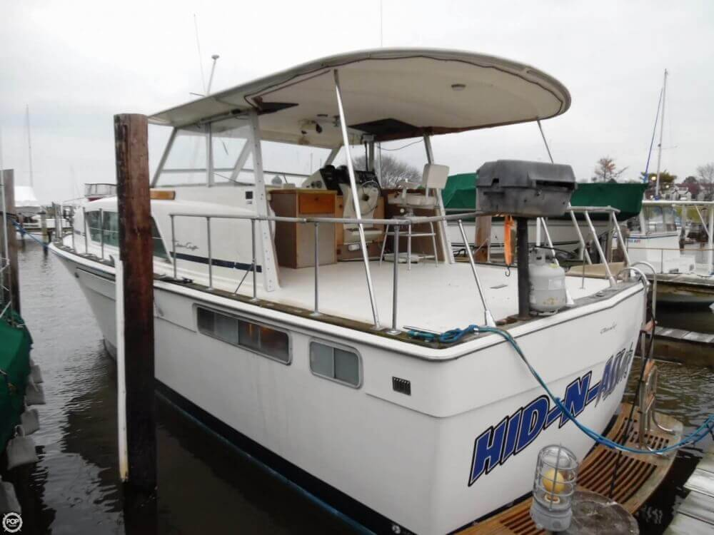 1974 Chris Craft boat for sale, model of the boat is 410 Commander & Image # 2 of 40