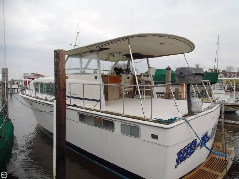 1974 Chris Craft boat for sale, model of the boat is 410 Commander & Image # 19 of 40