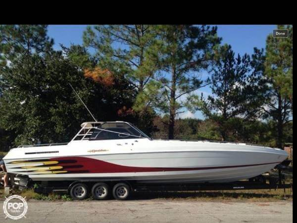 1985 Wellcraft boat for sale, model of the boat is 42 Excalibur & Image # 2 of 40