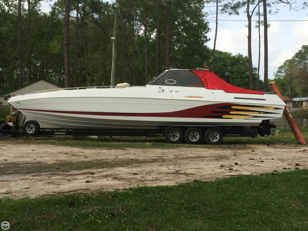 1985 Wellcraft boat for sale, model of the boat is 42 Excalibur & Image # 4 of 40