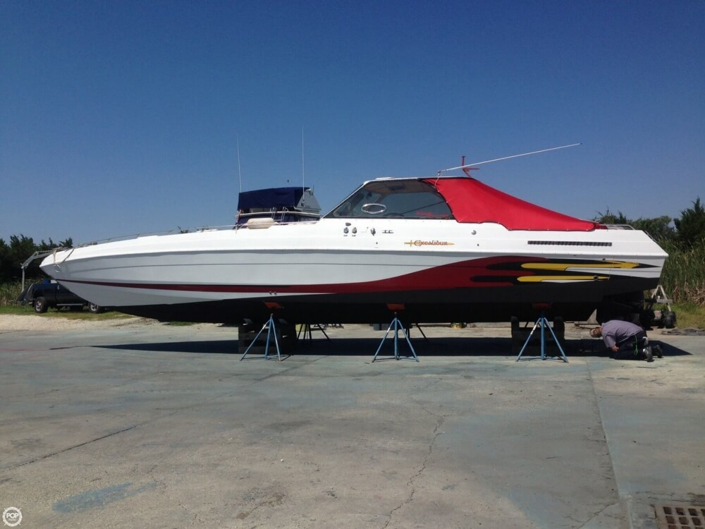 1985 Wellcraft boat for sale, model of the boat is 42 Excalibur & Image # 7 of 40