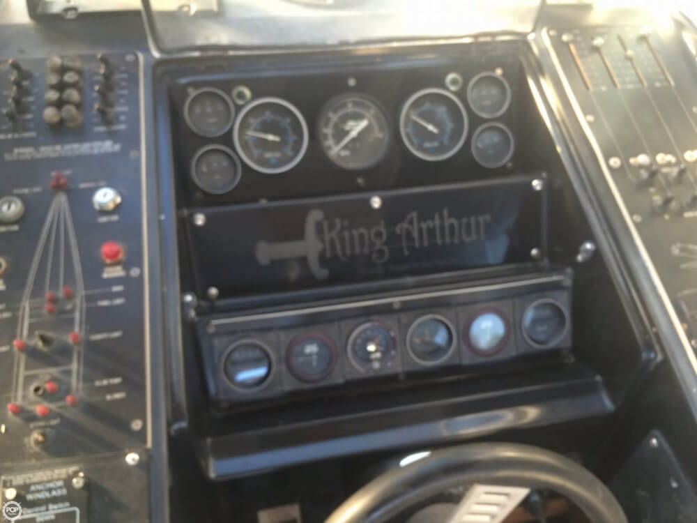 1985 Wellcraft boat for sale, model of the boat is 42 Excalibur & Image # 18 of 40
