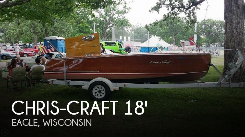 1953 Chris-Craft 18 Riviera - Photo #1