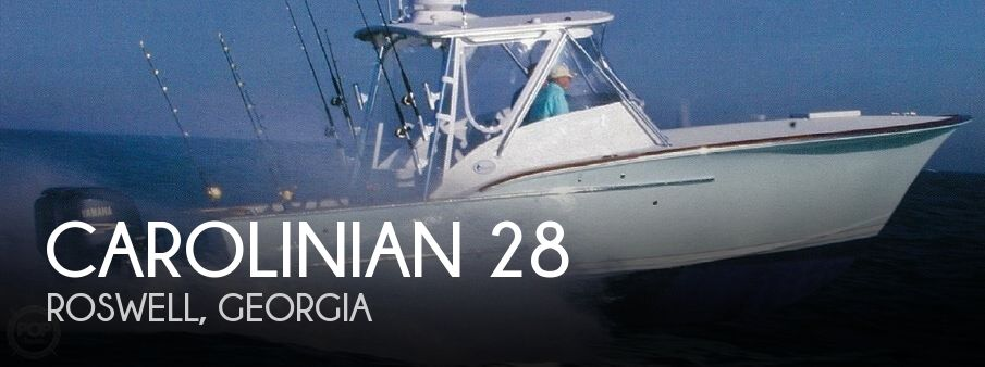 Used Boats For Sale in Georgia by owner | 2009 Carolinian 28