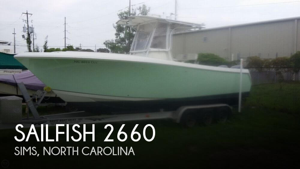Used Boats For Sale in Raleigh, North Carolina by owner | 2006 Sailfish 26