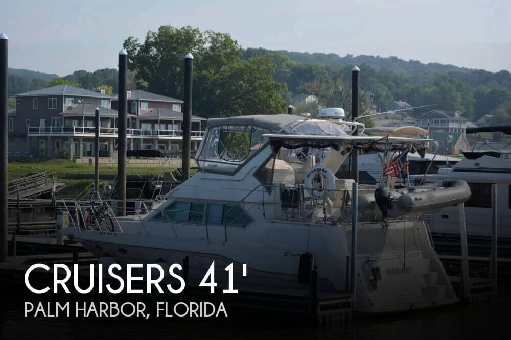 1996 CRUISERS YACHTS 3950 ESPRIT AFT CABIN for sale