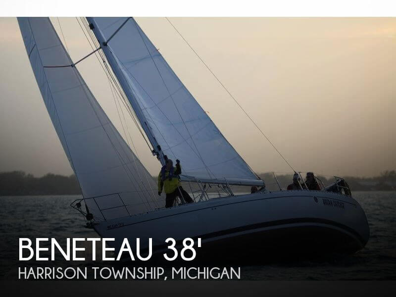 Used Boats For Sale in Saginaw, Michigan by owner | 1992 Beneteau 38