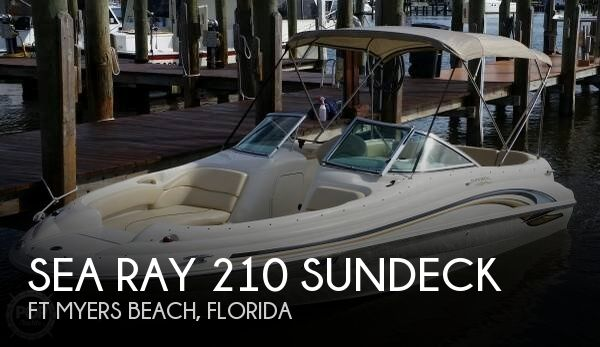 2001 Sea Ray 210 Sundeck for sale