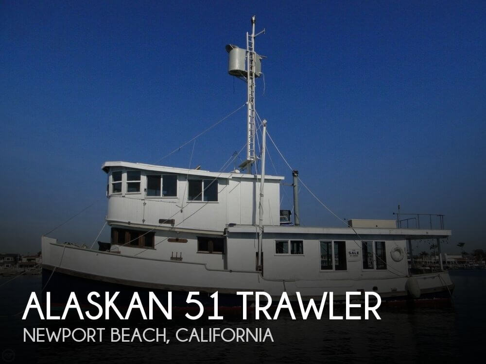 1930 Alaskan boat for sale, model of the boat is 51 Trawler & Image # 1 of 40