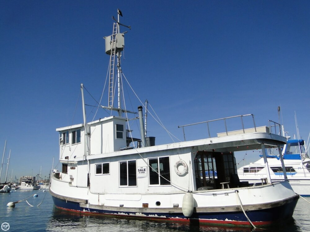 1930 Alaskan boat for sale, model of the boat is 51 Trawler & Image # 2 of 40