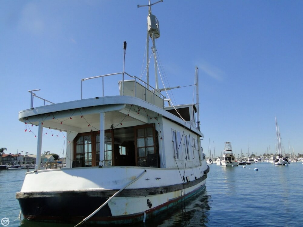 1930 Alaskan boat for sale, model of the boat is 51 Trawler & Image # 3 of 40