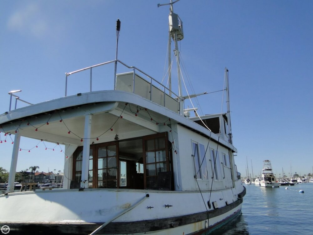 1930 Alaskan boat for sale, model of the boat is 51 Trawler & Image # 4 of 40