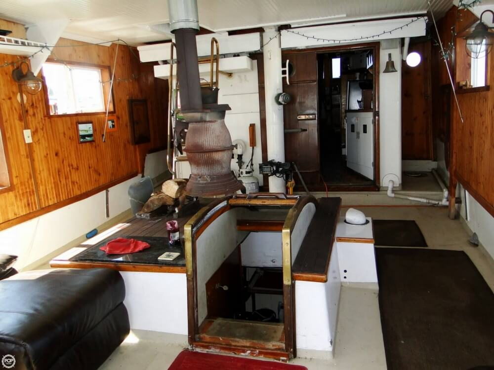 1930 Alaskan boat for sale, model of the boat is 51 Trawler & Image # 8 of 40