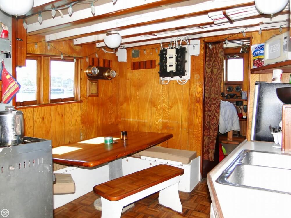 1930 Alaskan boat for sale, model of the boat is 51 Trawler & Image # 11 of 40