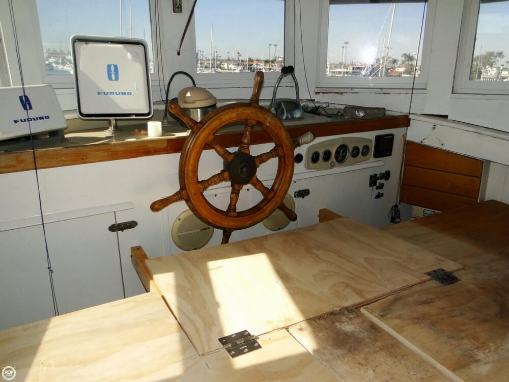 1930 Alaskan boat for sale, model of the boat is 51 Trawler & Image # 18 of 40