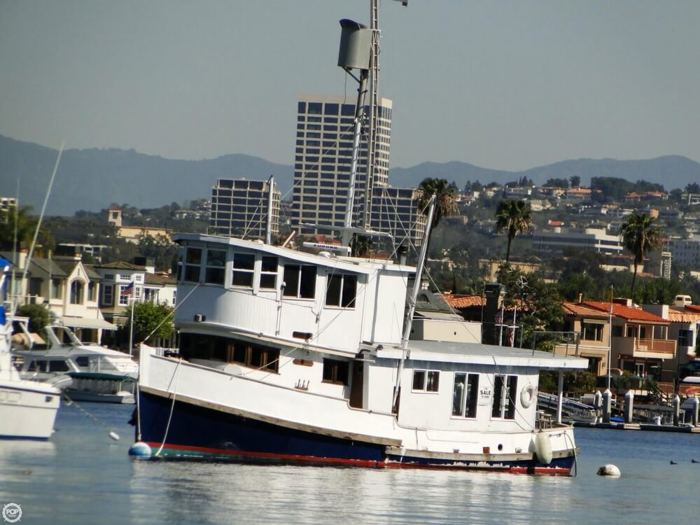 1930 Alaskan boat for sale, model of the boat is 51 Trawler & Image # 27 of 40