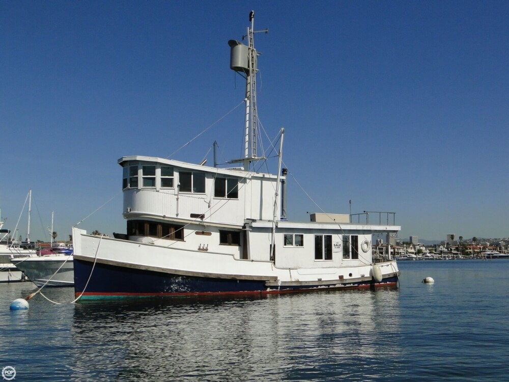 1930 Alaskan boat for sale, model of the boat is 51 Trawler & Image # 28 of 40