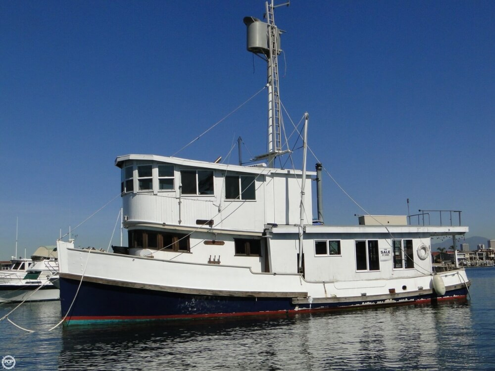 1930 Alaskan boat for sale, model of the boat is 51 Trawler & Image # 29 of 40