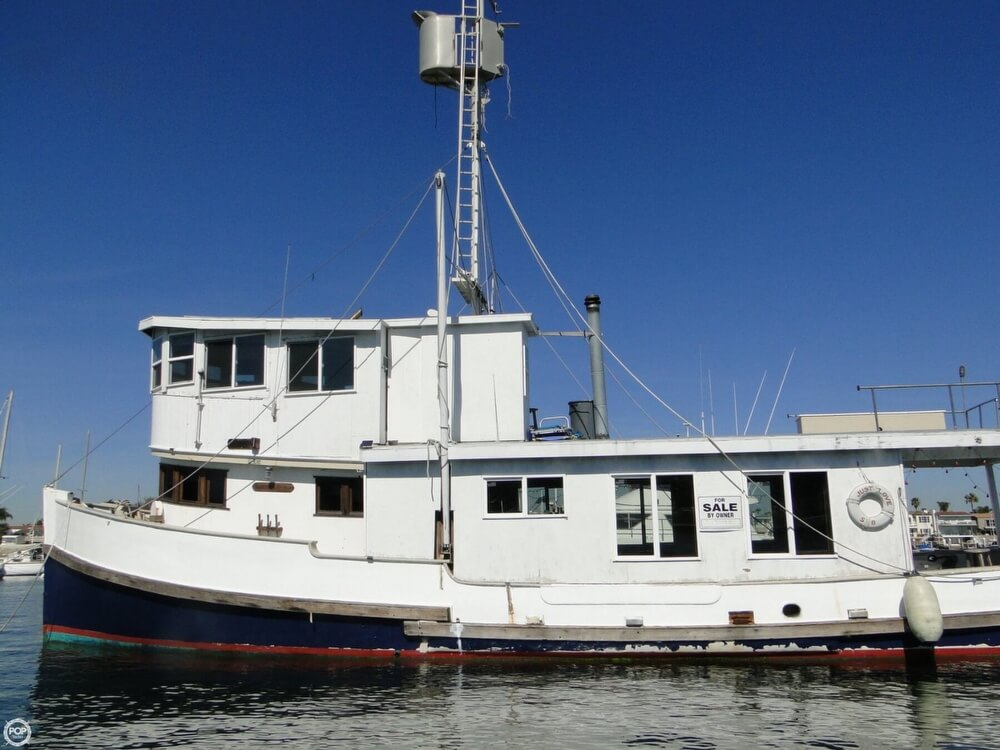1930 Alaskan boat for sale, model of the boat is 51 Trawler & Image # 30 of 40