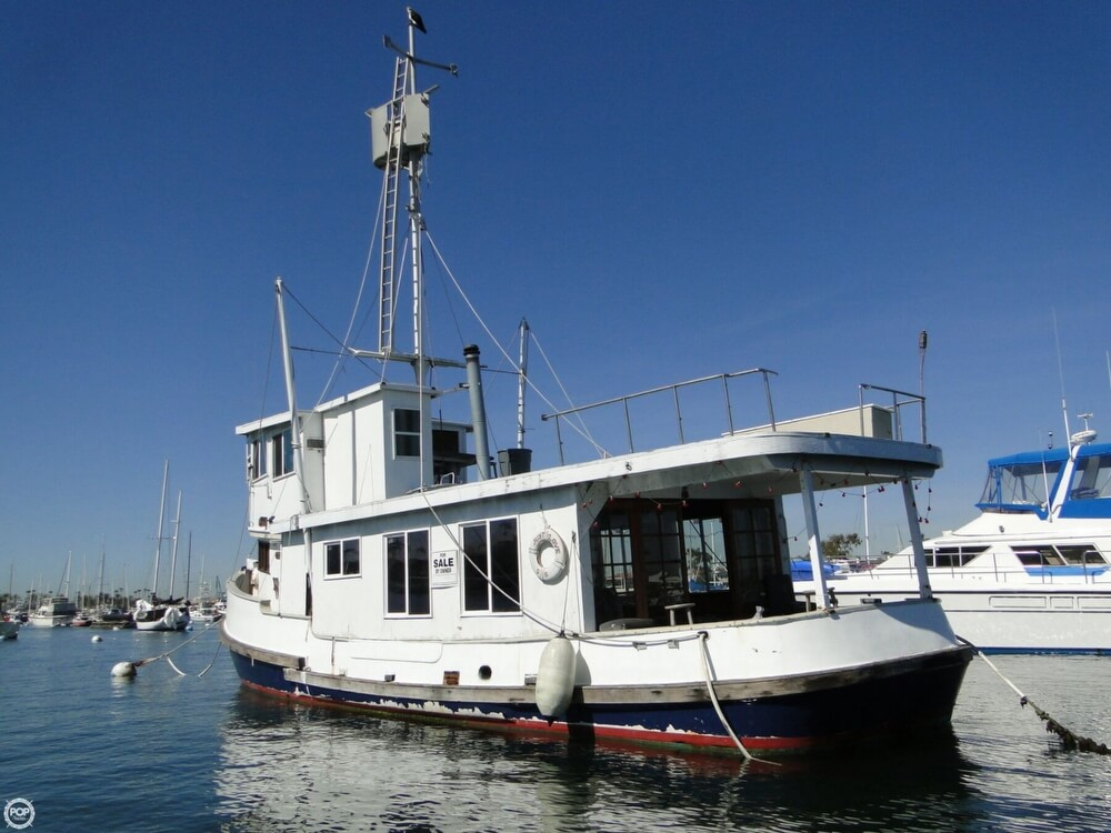 1930 Alaskan boat for sale, model of the boat is 51 Trawler & Image # 32 of 40