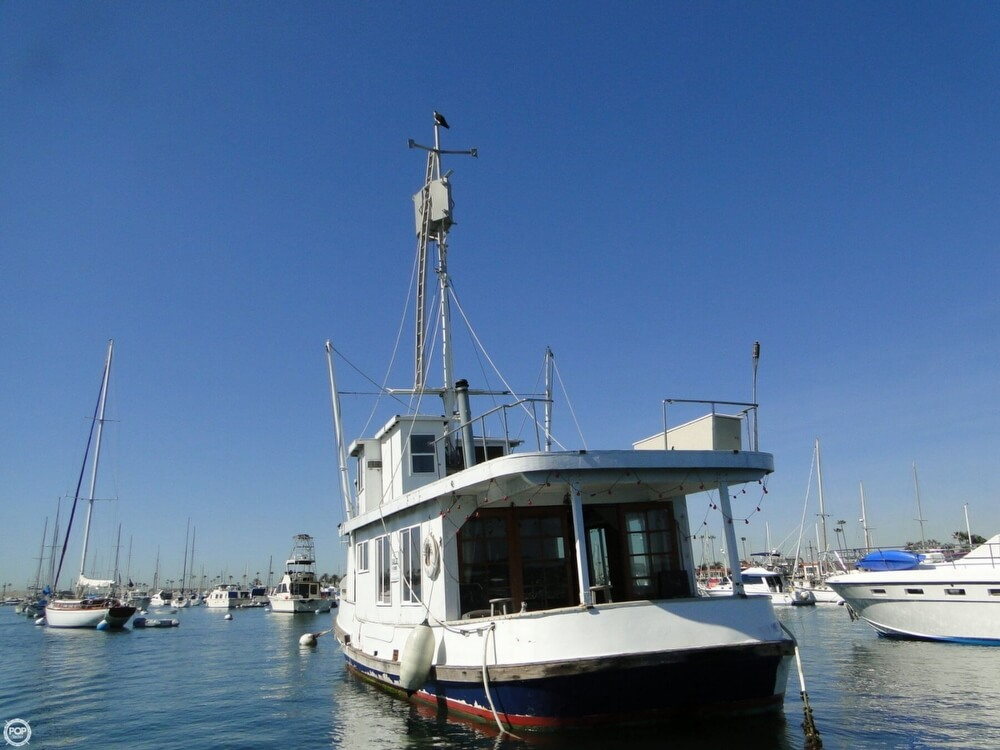 1930 Alaskan boat for sale, model of the boat is 51 Trawler & Image # 33 of 40