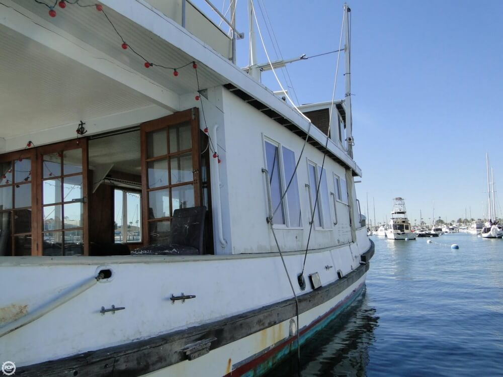 1930 Alaskan boat for sale, model of the boat is 51 Trawler & Image # 38 of 40
