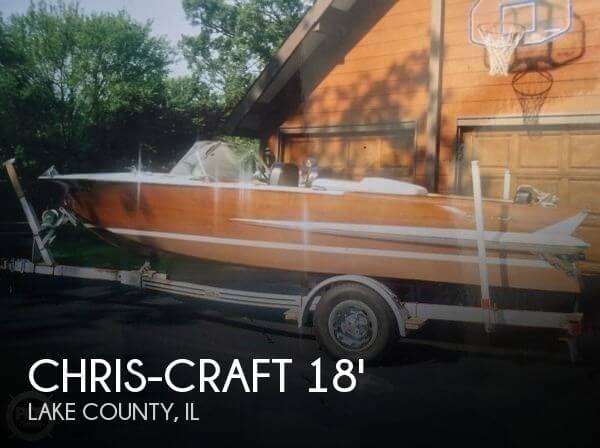 1962 Chris-Craft Holiday 18 - Photo #1