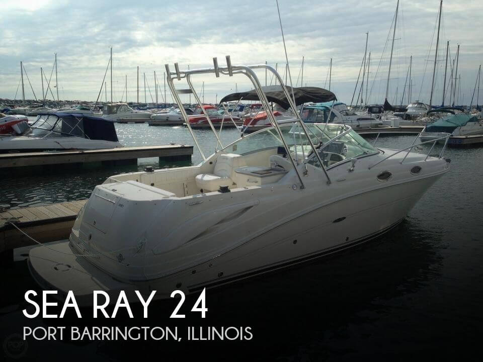 24 Foot Sea Ray 24 24 Foot Sea Ray Motor Boat In Chicago