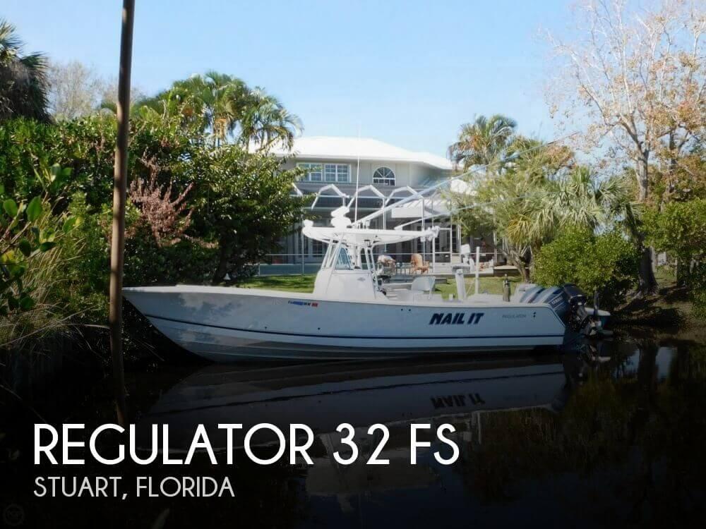 2005 Regulator Marine 32 FS for sale