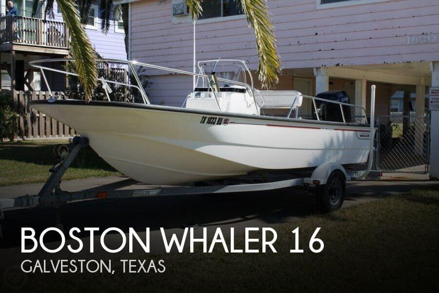 2004 Boston Whaler 16 for sale