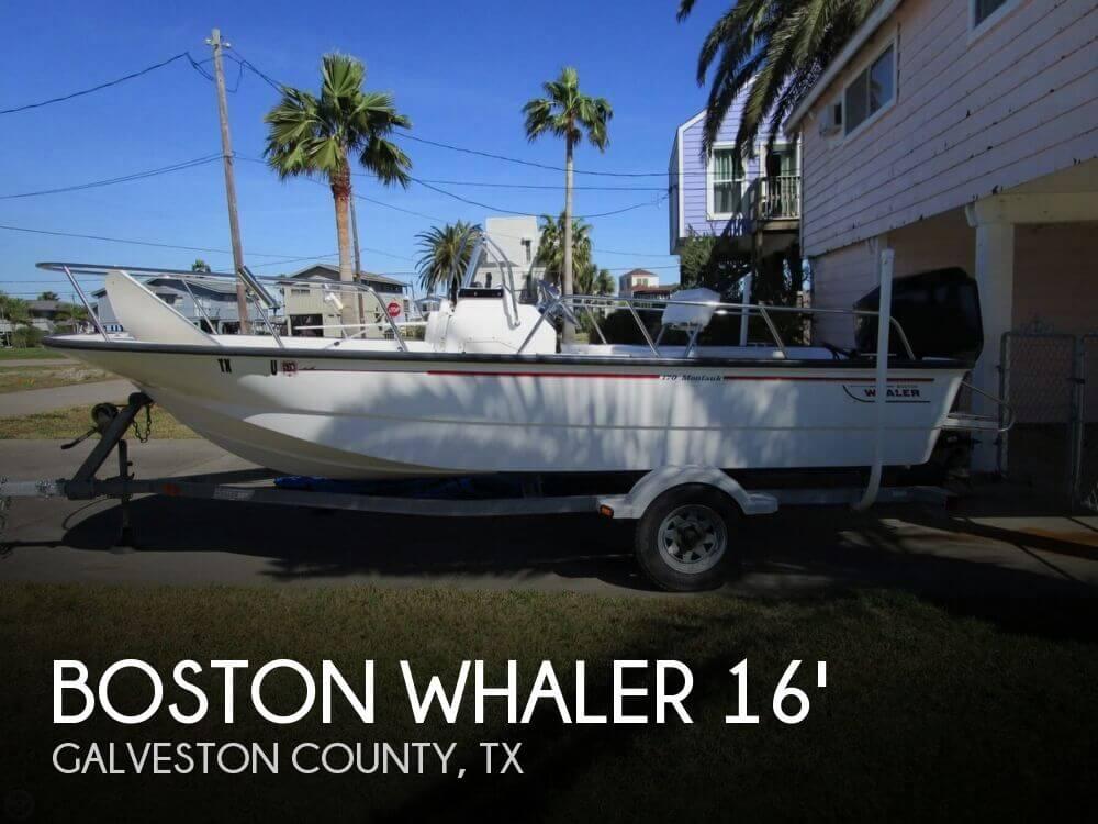 2004 Boston Whaler 170 Montauk - Photo #1
