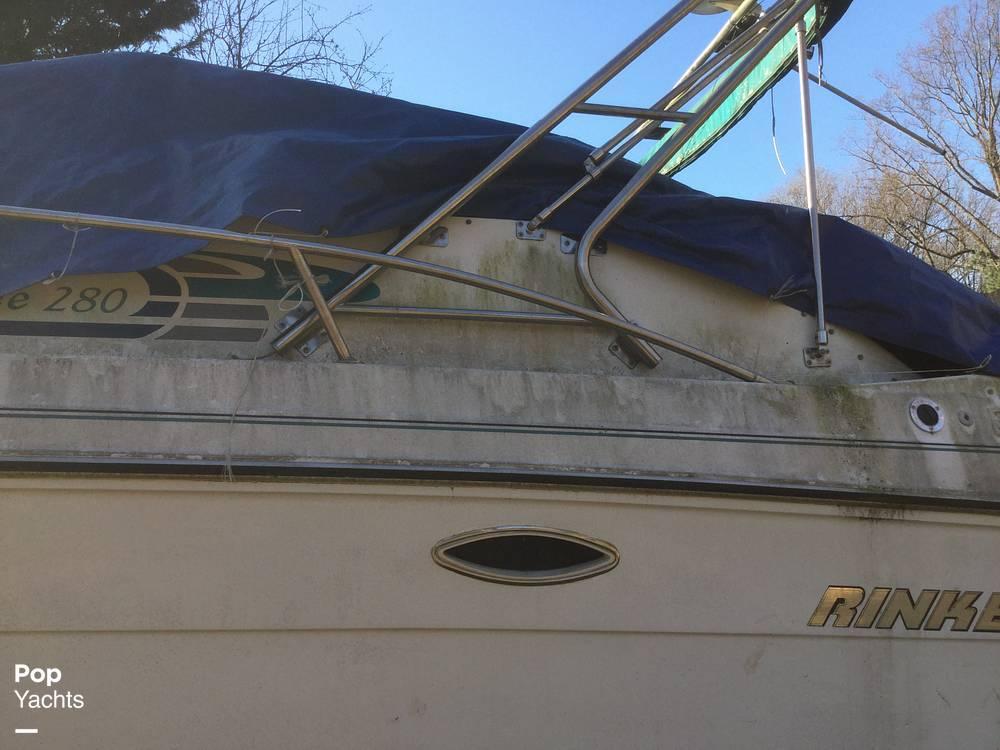 1994 Rinker boat for sale, model of the boat is 280 Fiesta Vee & Image # 25 of 40
