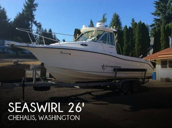 2005 SEASWIRL STRIPER 2601 for sale