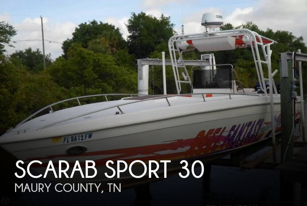 1988 Scarab Sport 30 - Photo #1
