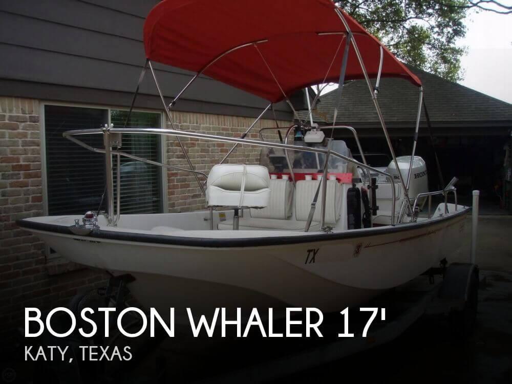 1996 Boston Whaler 17 Montauk - Photo #1