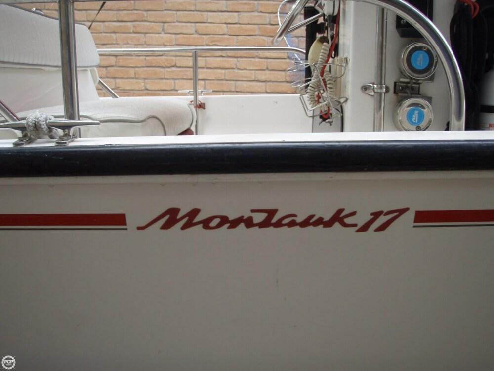 1996 Boston Whaler 17 Montauk - Photo #27