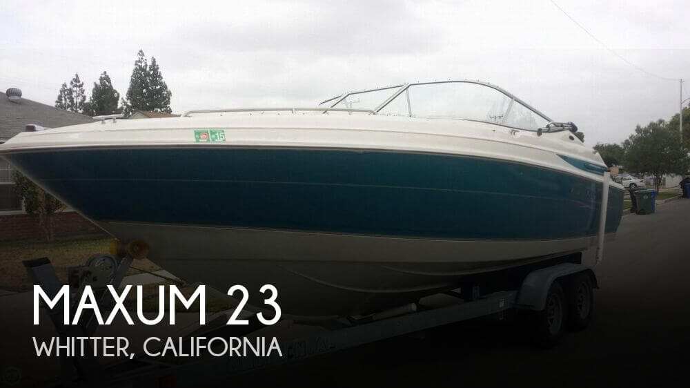 Used Maxum Boats For Sale in California by owner | 1998 Maxum 23