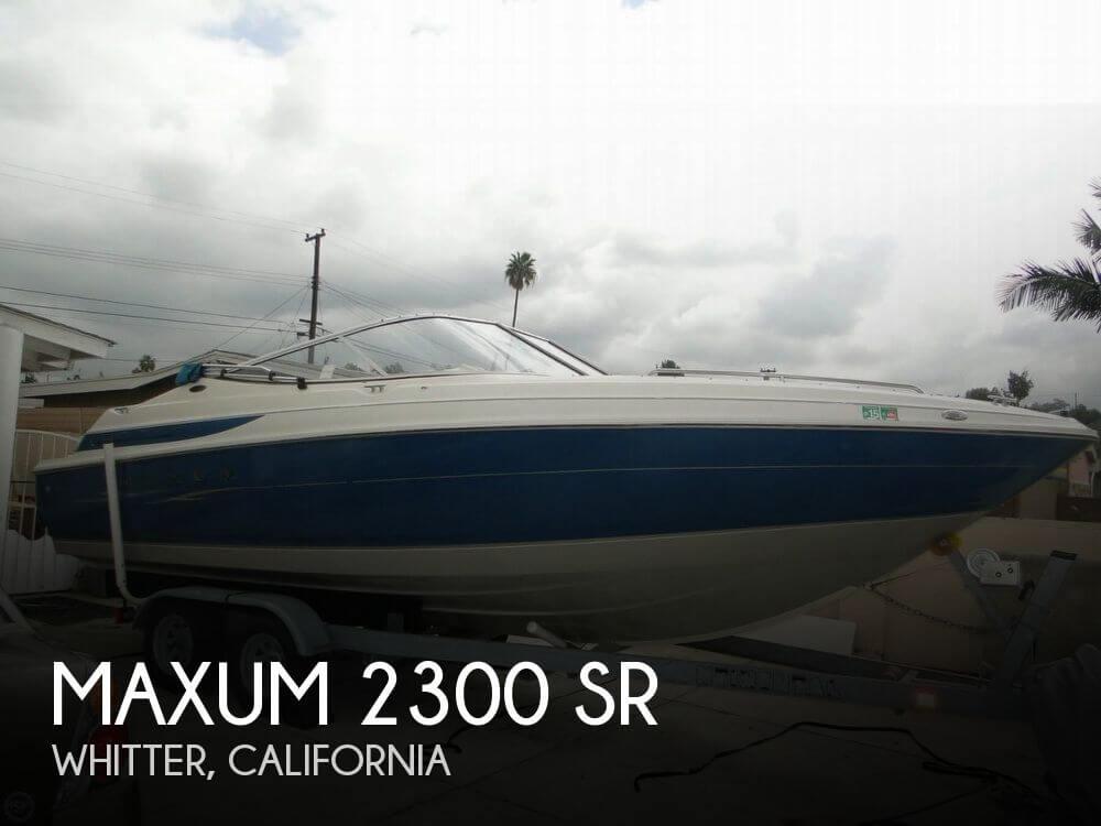 1998 Maxum 2300 SR - Photo #1