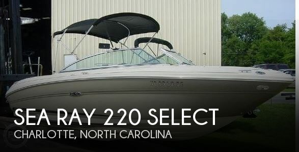Used Sea Ray Boats For Sale in North Carolina by owner   2006 Sea Ray 23