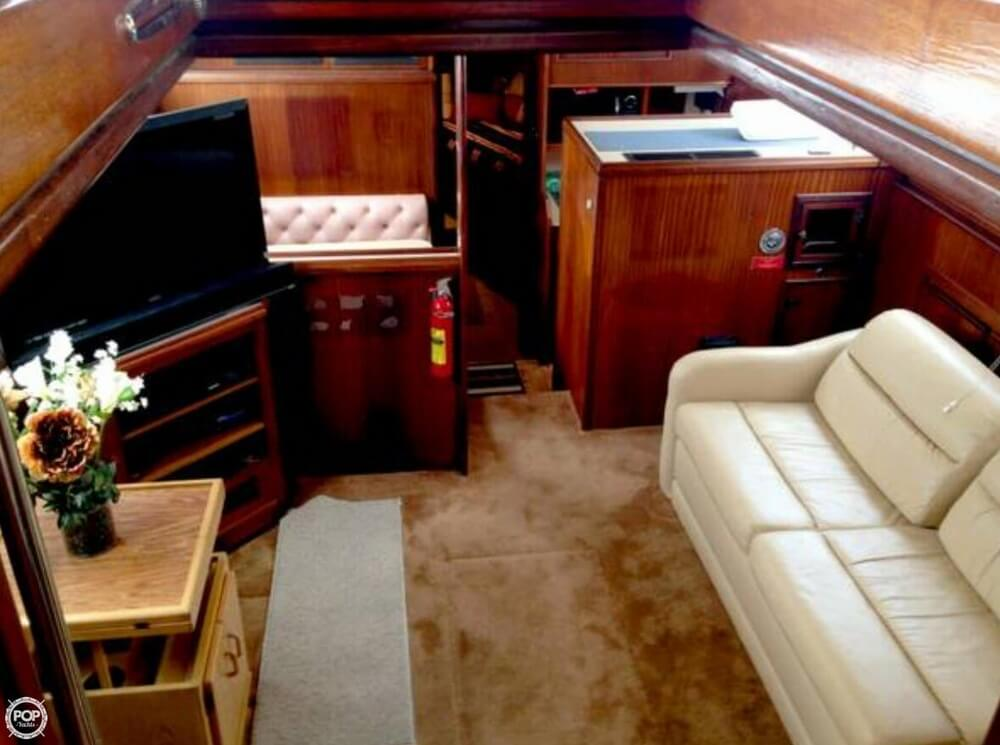 1983 Hatteras 43 Double Cabin - Photo #4