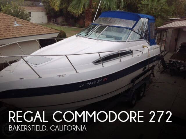 Used Boats For Sale in Bakersfield, California by owner | 1993 Regal 29